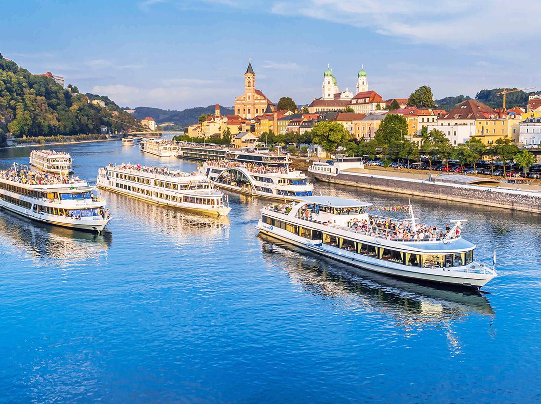 Wasserstand Donau Passau Schifffahrt