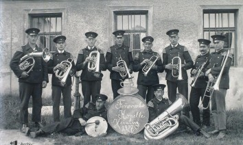 Feuerwehrkapelle Heining 1927